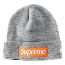 Supreme FW17 New Era Box Logo Beanie (ステッカー付き)