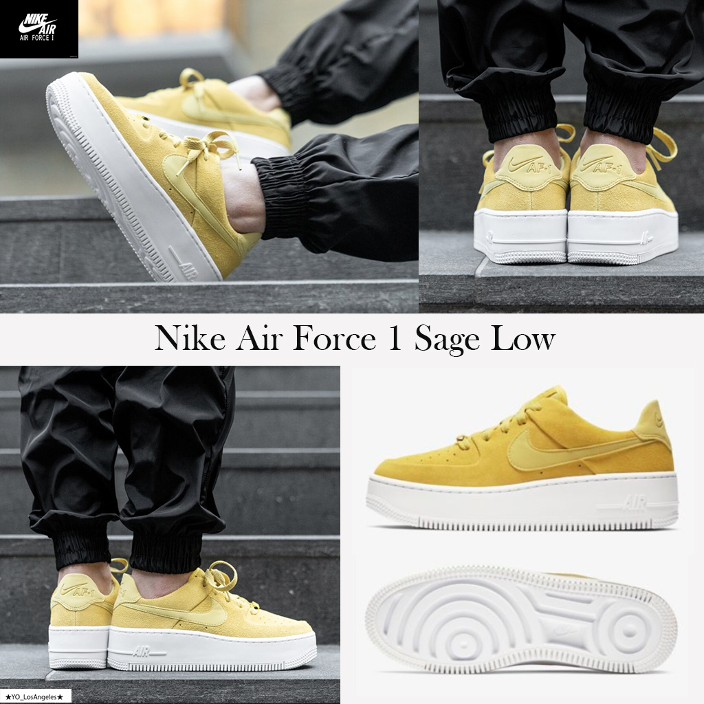 Nike AIR FORCE 1 2019 SS Street Style Low Top Sneakers