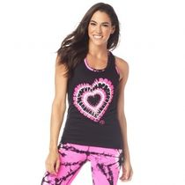 ★国内発送★ ズンバ Zumba Love Ribbed Tank Bold Black