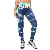 ズンバ Tie Dye For Zumba High Waisted Long Leggings Multi