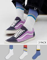 ASOS DESIGN sports socks with abstract stripe pattern 3