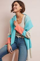 即発! サイズS Anthropologie Hooded Alpine Sweater Coat