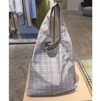 COS 2019新作 CHECKED TOTE BAG