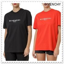 【海外発送】GIVENCHY★19SS Relaxed Fit Logo T-shirt