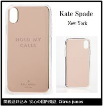 kate spade Hold my calls iPhone X/XS/XR ケース