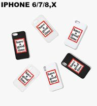HAVE A GOOD TIME★韓国★FRAME IPHONE CASE FOR IPHONE 6/7/8,X
