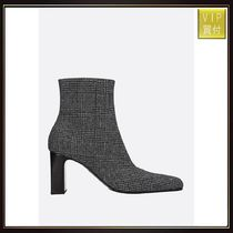 【BALENCIAGA】prince of wales ankle boots
