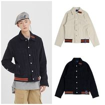 日本未入荷ROMANTIC CROWNのColor Tape Corduroy Jacket 全2色