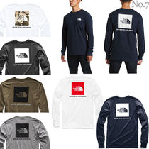 THE NORTH FACE◆RED BOX 背面ロゴ 長袖Tシャツ◆定番ロンTEE