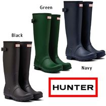 ☆HUNTER☆ Original Back Adjustable Wellies レインブーツ 3色
