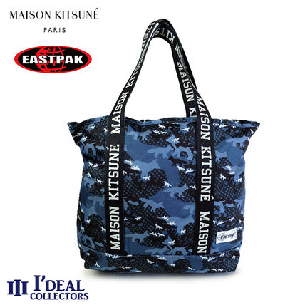 MAISON KITSUNE EASTPAK FLASK SPEAU807 コラボ トートバッグ