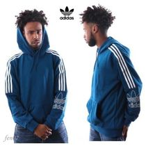 ☆adidas originals☆TREFOIL OUTLINE HOODIE/legend marine