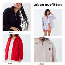 【UrbanOutfitters】FILAコラボExclusiveDianaZip-FrontTeddy
