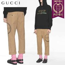 【正規品保証】GUCCI★19春夏★GUCCI OUROBOROS CHINO TROUSERS
