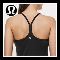 lululemon★ブラカップ付Power Y Tank  Luon/Black