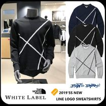 [THE NORTH FACE] ★19'SS NEW★ LINE LOGO SWEATSHIRTS 3COLOR