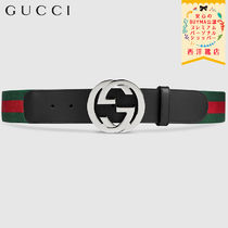 【正規品保証】GUCCI★19春夏★WEB BELT WITH G BUCKLE