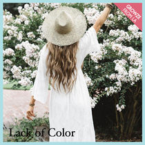 【Lack of Color】シーグラスハット Sunnydip Fray Fedora