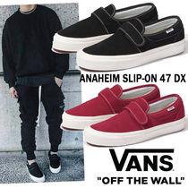 ◆Vans◆メンズ ANAHEIM FACTORY SLIP-ON 47 DX 2色 即発