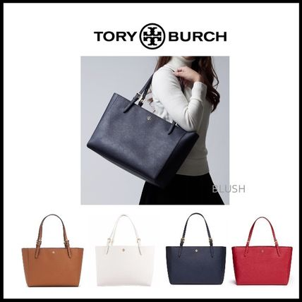 【TORY BURCH】 EMERSON SMALL BUCKLE TOTE