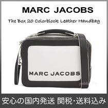 【国内発送】The Box 20 Colorblock Leather Handbagセール