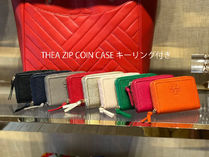 2月新作 TORY BURCH★THEA ZIP COIN CASE キーリング付き