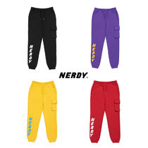 NERDY ★ Brushed Jogger Pants (2月9日までセール!)