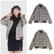 日本未入荷ROMANTIC CROWNのColor Tape Check Jacket 全2色