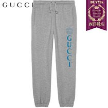 【正規品保証】GUCCI★19春夏★GUCCI LOGO JOGGING TROUSERS
