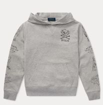 新作!大人もOK♪ Polo Bear French Terry Hoodie boys 8~20