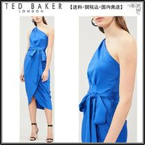 【関税込】TED BAKER ドレス☆Gabie satin-crepe dress