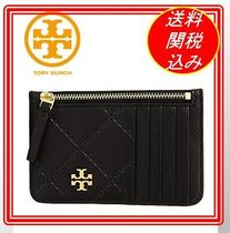 関税.送料込 Tory Burch Georgia Top-Zip Card Case 名刺入れ