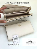 2月新作 COACH★L-ZIP WALLET 長財布 F37985