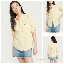 【Abercrombie&Fitch】OXFORD SHIRT♪ムースロゴシャツ