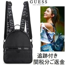 Guess(ゲス) バックパック・リュック 【関税返金】◆Guess◆クラシックロゴ・バックパック(追跡付)
