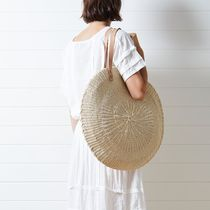 AUS発[ビーチピープル]バック:Scallop Oversized Bag