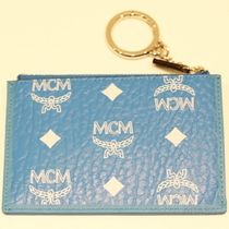 新品MCM正規品/EMS/送料込み VISETOS WHITE LOGO Mini key pouch