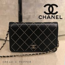 ☆BOY CHANEL☆チェーンウォレット WOC【関税込み】スタッズ