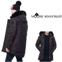 MOOSE KNUCKLES(ムースナックルズ) ジャケットその他 【ムースナックルズ】 STIRLING PARKA 全色・サイズ残りわずか!