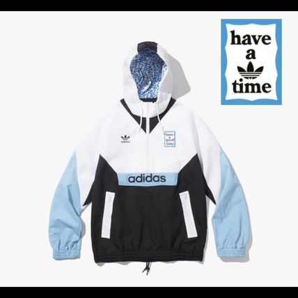 adidas×have a good timeコラボ★Pullover ウィンドブレーカー
