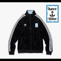 adidas×have a good time限定コラボ★Velour Track Top Black