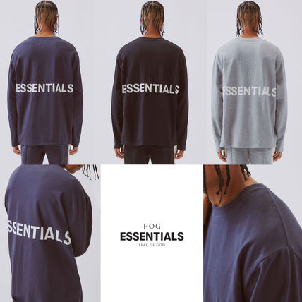 FEAR OF GOD Tシャツ・カットソー FOG  Fear Of God Essentials Boxy Graphic Long Sleeve T-Shirt