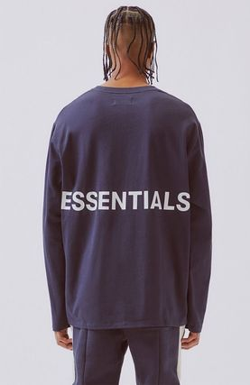 FEAR OF GOD Tシャツ・カットソー FOG  Fear Of God Essentials Boxy Graphic Long Sleeve T-Shirt(2)
