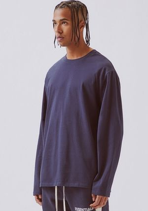 FEAR OF GOD Tシャツ・カットソー FOG  Fear Of God Essentials Boxy Graphic Long Sleeve T-Shirt(4)