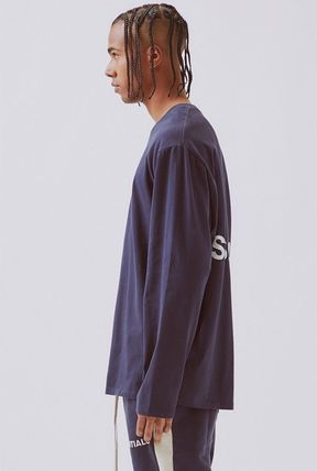 FEAR OF GOD Tシャツ・カットソー FOG  Fear Of God Essentials Boxy Graphic Long Sleeve T-Shirt(5)