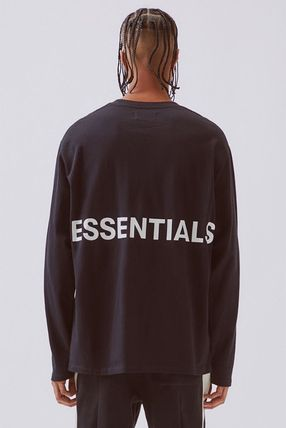 FEAR OF GOD Tシャツ・カットソー FOG  Fear Of God Essentials Boxy Graphic Long Sleeve T-Shirt(8)