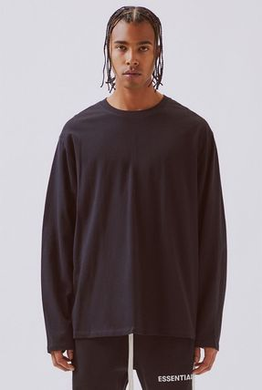 FEAR OF GOD Tシャツ・カットソー FOG  Fear Of God Essentials Boxy Graphic Long Sleeve T-Shirt(9)