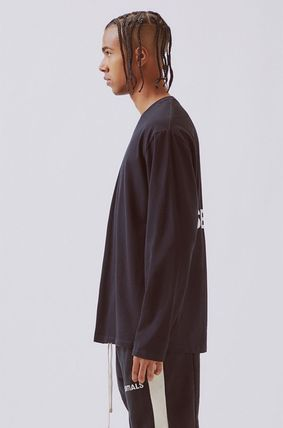 FEAR OF GOD Tシャツ・カットソー FOG  Fear Of God Essentials Boxy Graphic Long Sleeve T-Shirt(10)