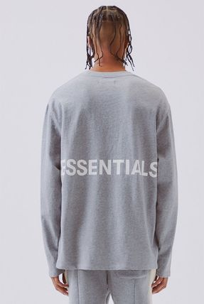 FEAR OF GOD Tシャツ・カットソー FOG  Fear Of God Essentials Boxy Graphic Long Sleeve T-Shirt(14)