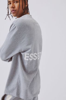 FEAR OF GOD Tシャツ・カットソー FOG  Fear Of God Essentials Boxy Graphic Long Sleeve T-Shirt(16)